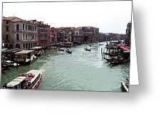 Grand Canal Venice Italy Greeting Card