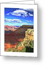 Grand Canyon # 22 - Mather Point Overlook Greeting Card