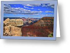 Grand Canyon # 29 - Mather Point Overlook Greeting Card