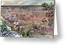 Grand Canyon 08 Greeting Card