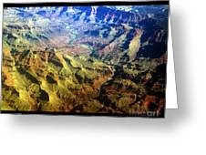 Grand Canyon Aerial View Greeting Card
