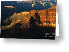 Grand Canyon Arizona Light And Shadow 2 Greeting Card