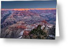 Grand Canyon Blue Hour Greeting Card