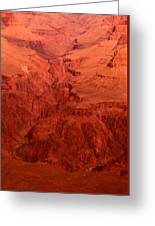 Grand Canyon Depth Greeting Card