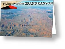 Grand Canyon Flight Greeting Card