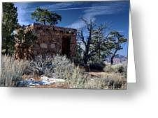 Grand Canyon Homestead Greeting Card