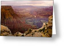 Grand Canyon In The Spring Greeting Card