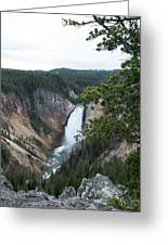 Grand Canyon In Wyoming Greeting Card