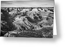 Layers Of Time In The Grand Canyon Greeting Card