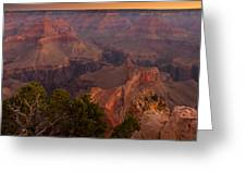 Grand Canyon Morning Light Greeting Card