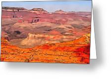 Grand Canyon National Park Summer Greeting Card