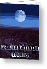 Grand Canyon Nights Greeting Card