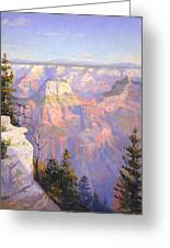 Grand Canyon North Rim Greeting Card by Lewis A Ramsey