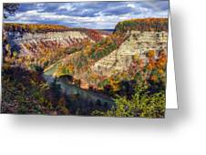 Grand Canyon Of The East Greeting Card