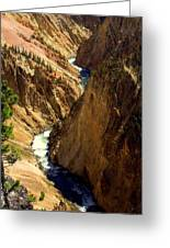 Grand Canyon Of The Yellowstone 2 Greeting Card