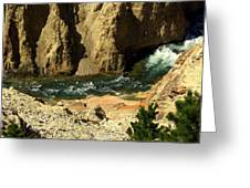 Grand Canyon Of The Yellowstone 3 Greeting Card