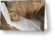 Grand Canyon Of The Yellowstone II Greeting Card
