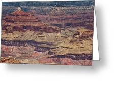 Grand Canyon Orphan Mine Greeting Card by Susan Rissi Tregoning