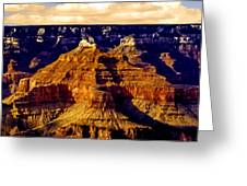 Grand Canyon Painting Sunset Greeting Card