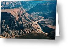 Grand Canyon River Greeting Card