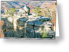 Grand Canyon Rock Formations, Arizona Greeting Card