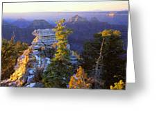 Grand Canyon Sunrise Greeting Card