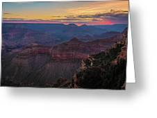 Grand Canyon Sunrise Greeting Card by John Hight