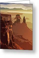 Grand Canyon - Usa Greeting Card
