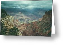 Grand Canyon Usa Greeting Card