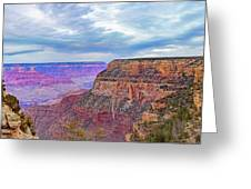 Grand Canyon Village Panorama Greeting Card