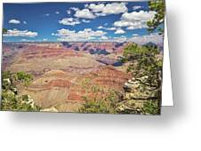 Grand Canyon Vista 14 Greeting Card