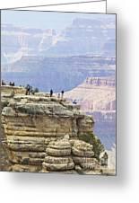 Grand Canyon Vista Greeting Card