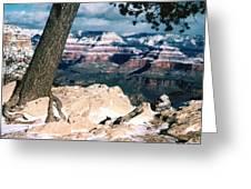 Grand Canyon Winter Greeting Card