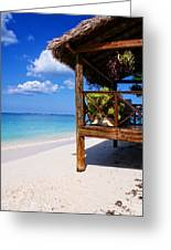Grand Cayman Relaxing Greeting Card