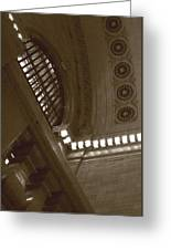 Grand Central Rosettes Greeting Card