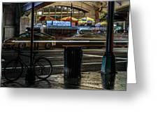 Grand Central Terminalfood Carts Greeting Card
