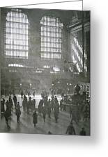 Grand Central Station, New York City, 1925 Greeting Card