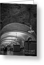 Grand Central Terminal - Arched Corridor Greeting Card