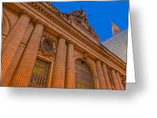 Grand Central Terminal - Chrysler Building Greeting Card