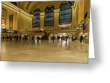 Grand Central Terminal Main Floor Greeting Card