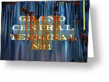 Grand Central Terminal No 1 Greeting Card