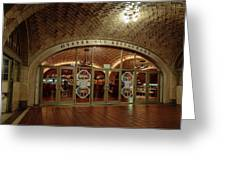 Grand Central Terminal Oyster Bar Greeting Card