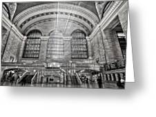 Grand Central Terminal Station Greeting Card by Susan Candelario