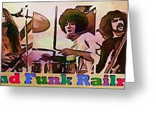 Grand Funk Railroad Collection - 1 Greeting Card