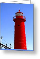 Grand Haven Light Greeting Card
