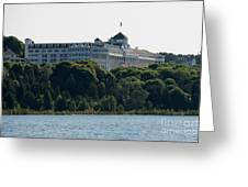 Grand Hotel On Mackinac Island Greeting Card