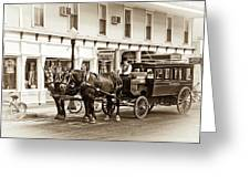 Grand Hotel Shuttle 10331 Greeting Card