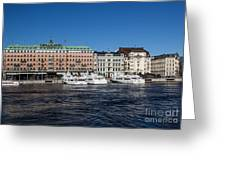 Grand Hotel Stockholm Greeting Card