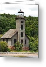 Grand Island Lighthouse Greeting Card
