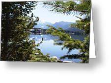 Grand Lake Co Mt Baldy Spring II Greeting Card